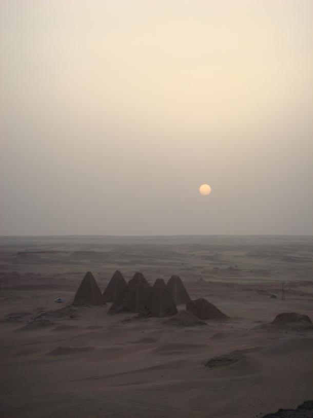 Jebel-Barkal-pyramids