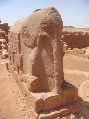 The Elephant Temple at Musawwarat es Sufra,Sudan