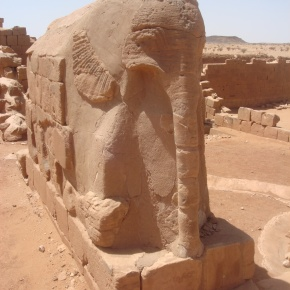 The Elephant Temple at Musawwarat es Sufra, Sudan
