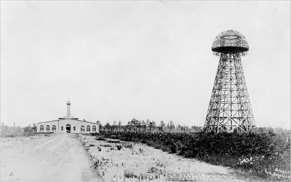Nikola Tesla and His Wardenclyffe Tower and Laboratory