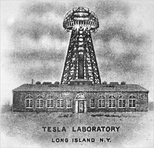 Nikola Tesla Lab Long Island