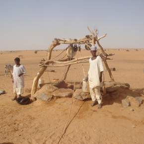 A Nomadic Watering Hole in Sudan