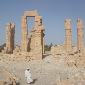 The Temple of Soleb, Sudan