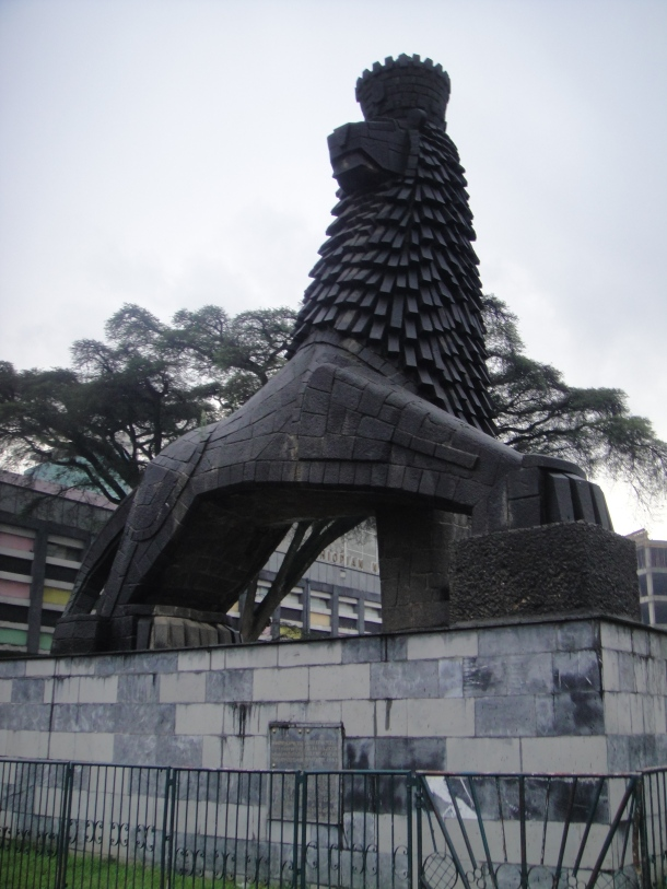 Lion of Judah Monument in Addis Ababa
