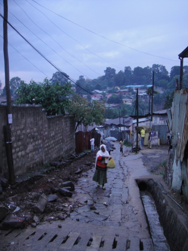 Rainy day poverty in Addis Ababa