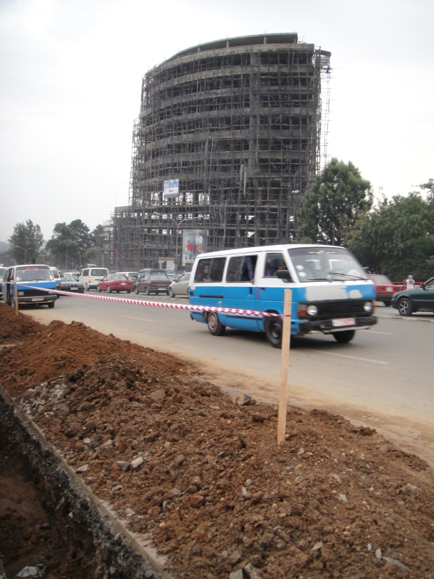 Street scene in Addis Ababa