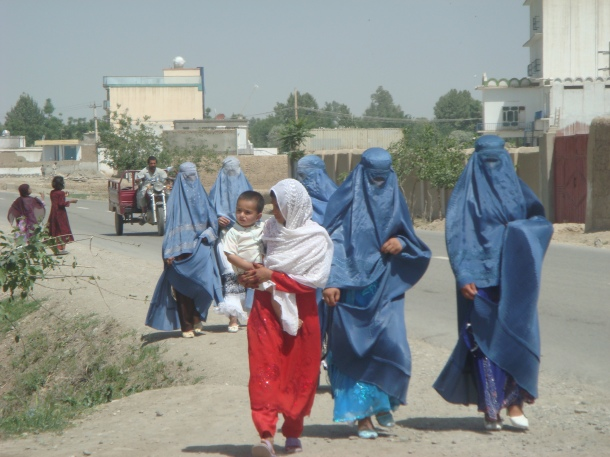 afghan women kunduz