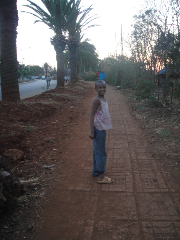 child in Bahir Dar