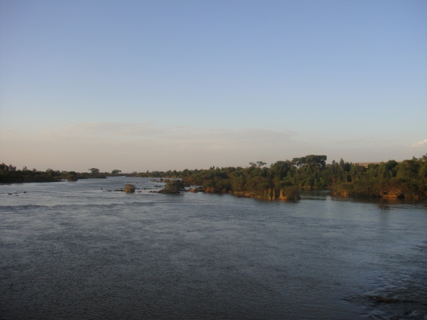 Nile River in Bahir Dar