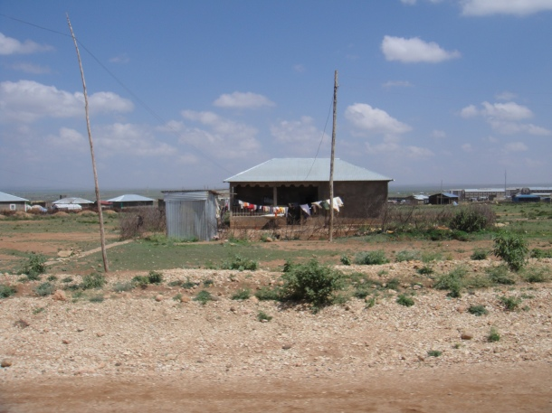 Homes on the outskirts of Jijiga, Ethiopia