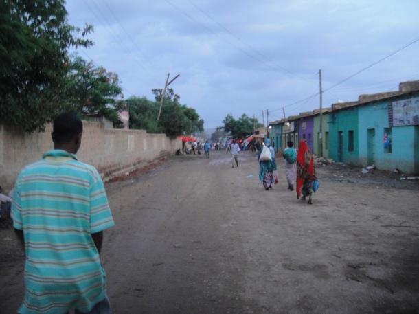 Street scene in Jijiga