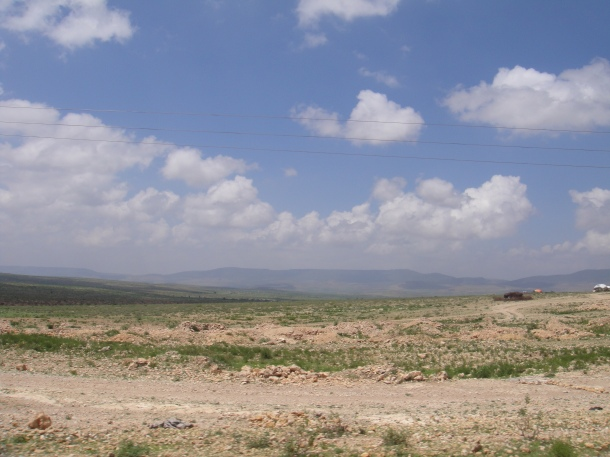 the plains outside jijiga - the big empty