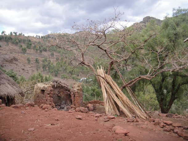 hut in Lalibela