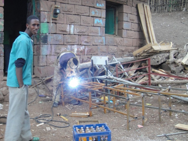 welder in Lalibela