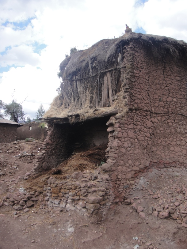 storage hut in Lalibela