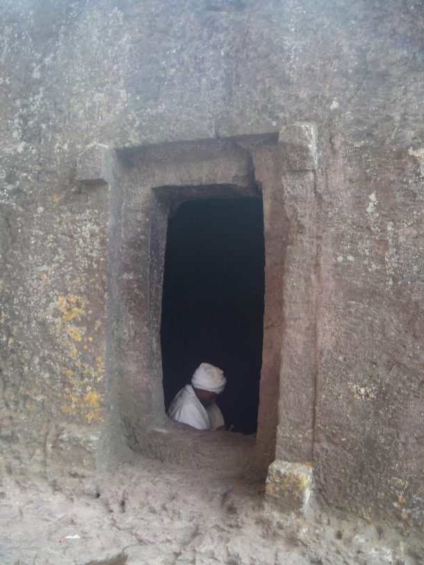 The rock-hewn churches of Lalibela - northwestern group