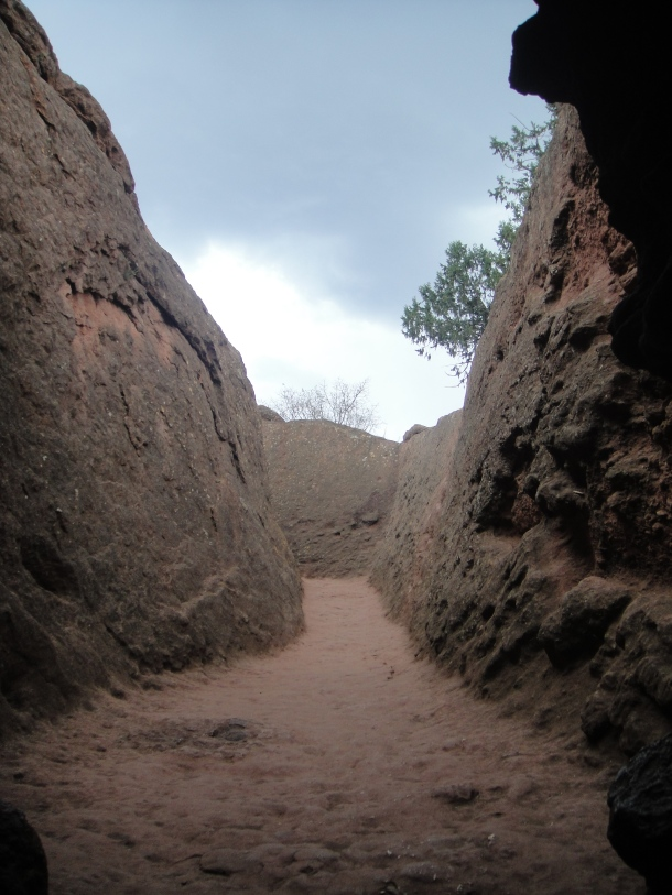 Passage down into Bet Giyorgis