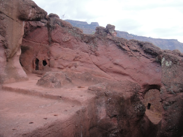 Bet Merkorios, Lalibela - the southeastern group of churches