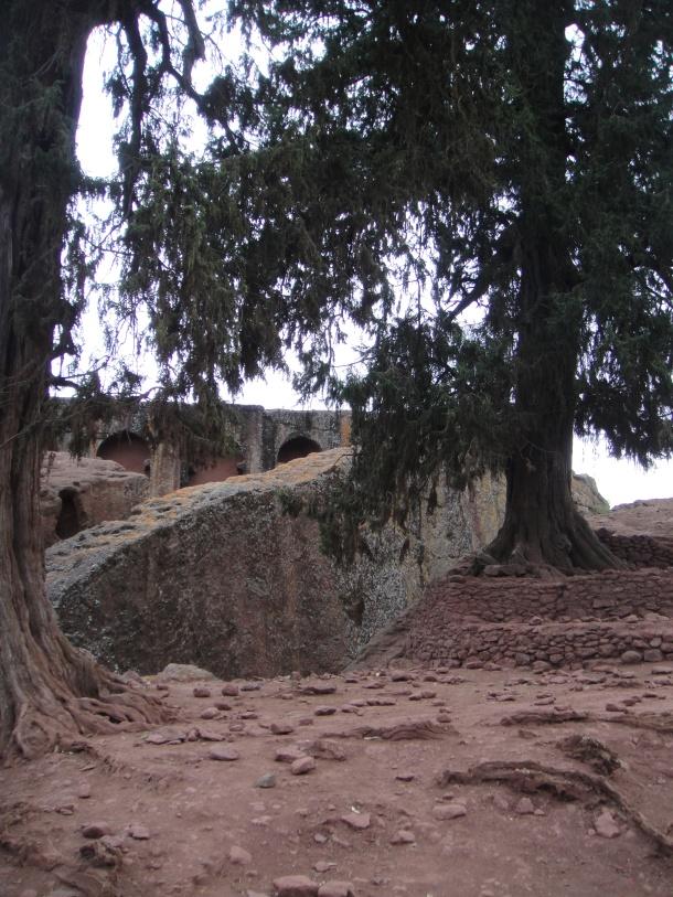 Bet Gabriel-Rufael, Lalibela - the southeastern group of churches