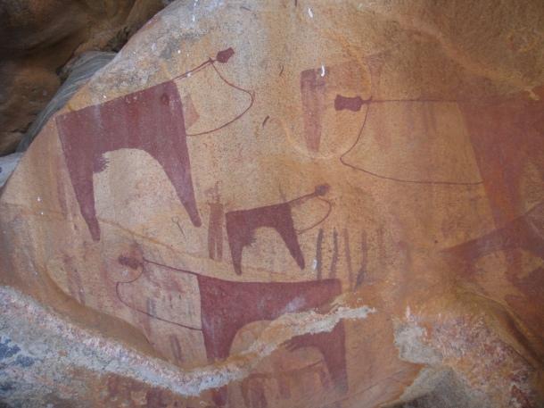 Las Geel Cave Drawings