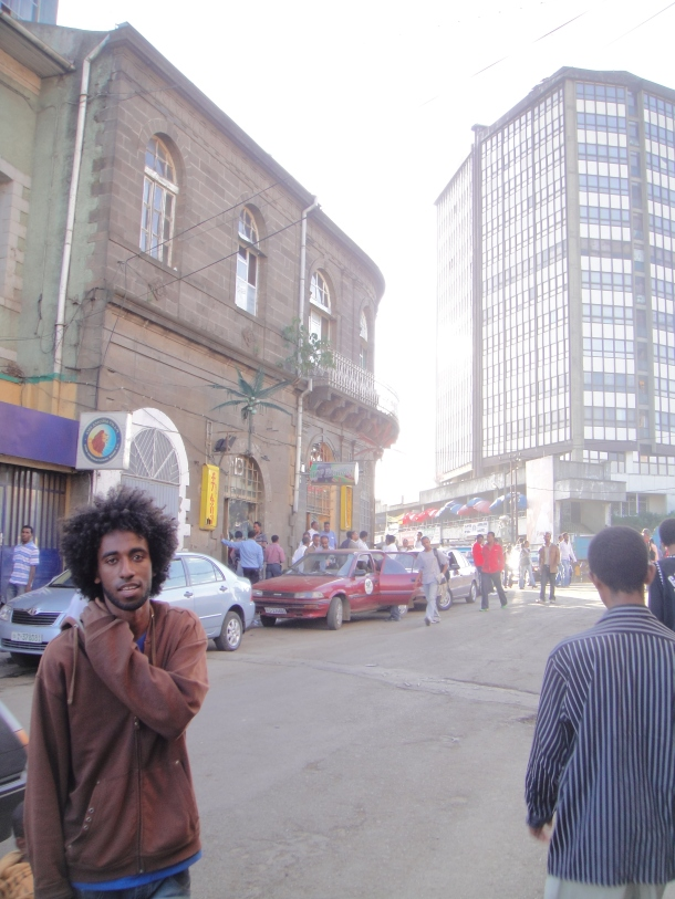 The Merkato in Addis Ababa