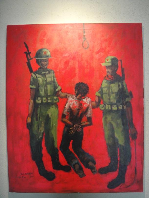 red terror martyr's memorial