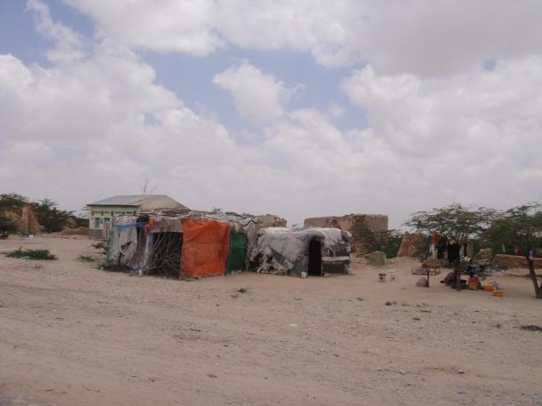 Primitive villages in Somalia