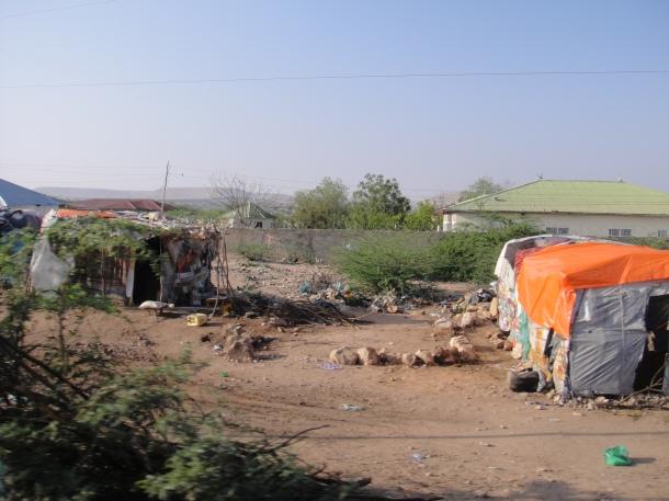 Rough living in Rural Somalia
