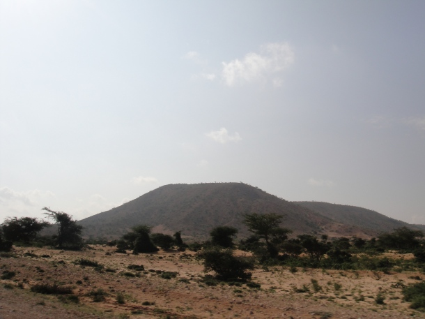 Mountain in Somalia