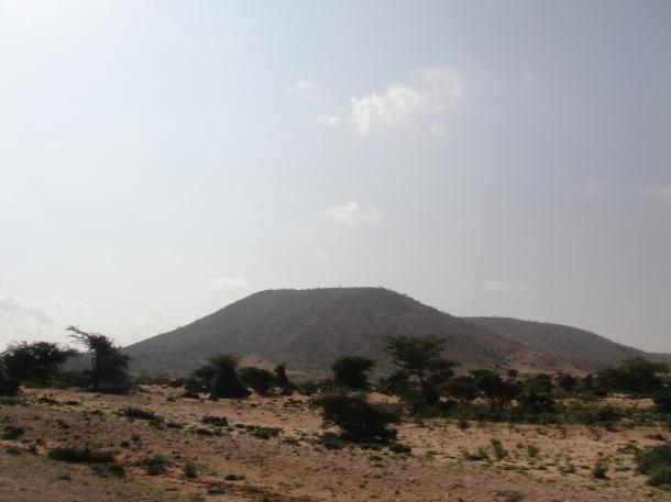 Mountain in Somalia