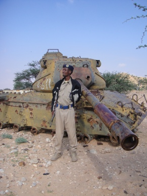 A Casualty Of The Somali Civil War