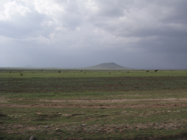 The road to Jijiga - the big empty