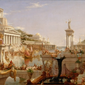 Paintings of The Day: The Course of Empire by Thomas Cole