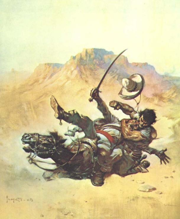 Frank Frazetta Out West