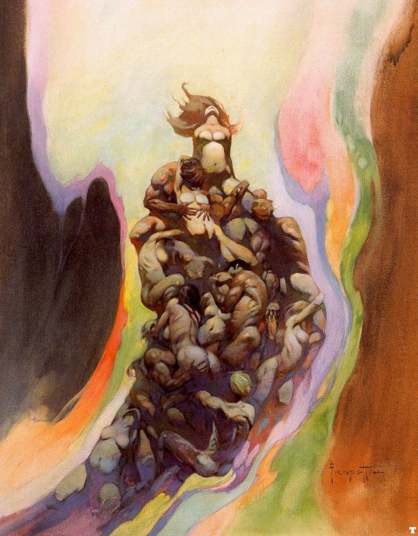 Frank Frazetta The Godmakers