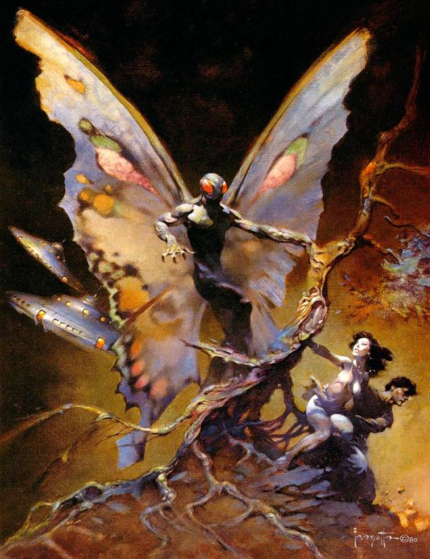 Frank Frazetta Yesterday