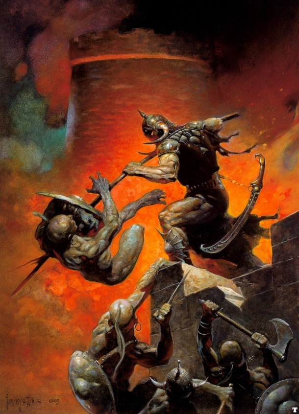 Frank Frazetta Death Dealer II