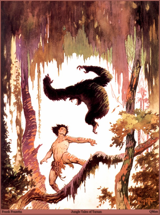 Frank Frazetta Jungle Tales of Tarzan