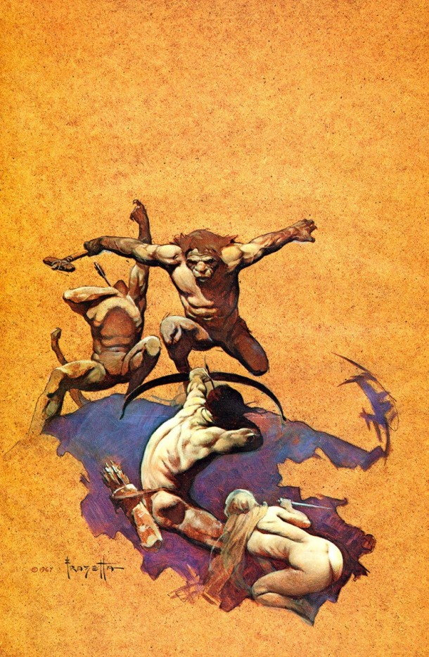 Frank Frazetta Land of Terror