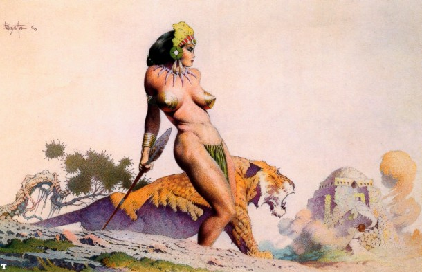 Frank Frazetta Lost City