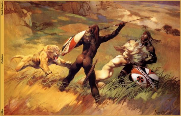 Frank Frazetta Predators