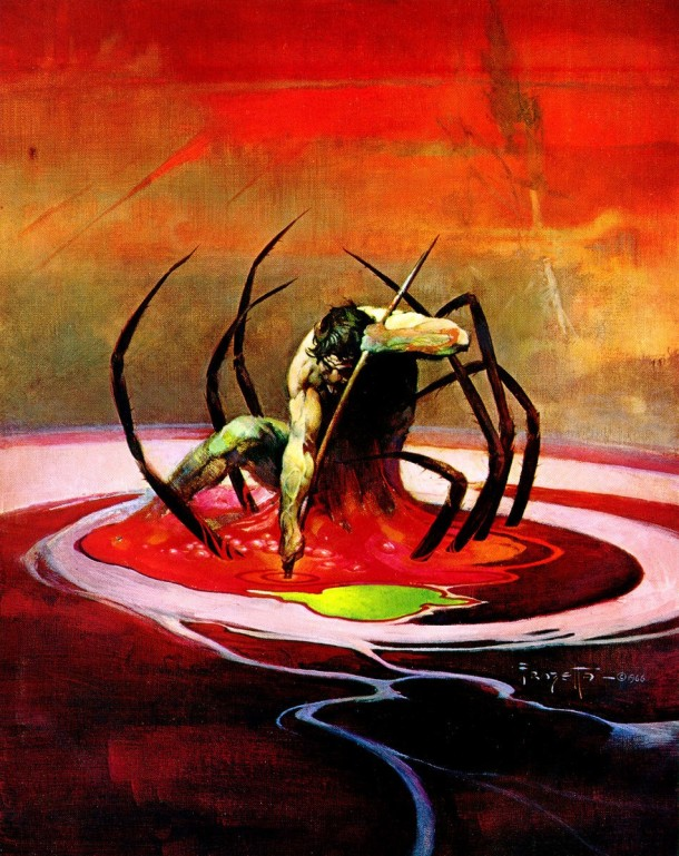 Frank Frazetta Spider Man