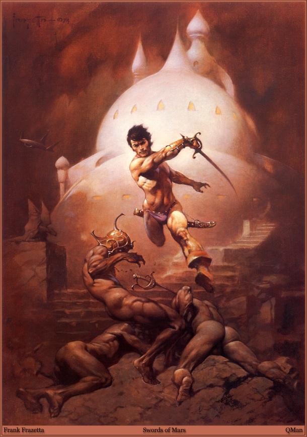 Frank Frazetta Swords of Mars