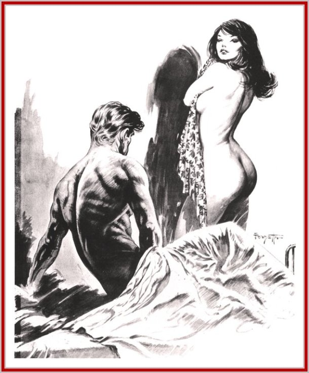 Frank Frazetta Black and White