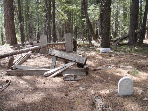 Port Wine Cemetery California Ghost Town