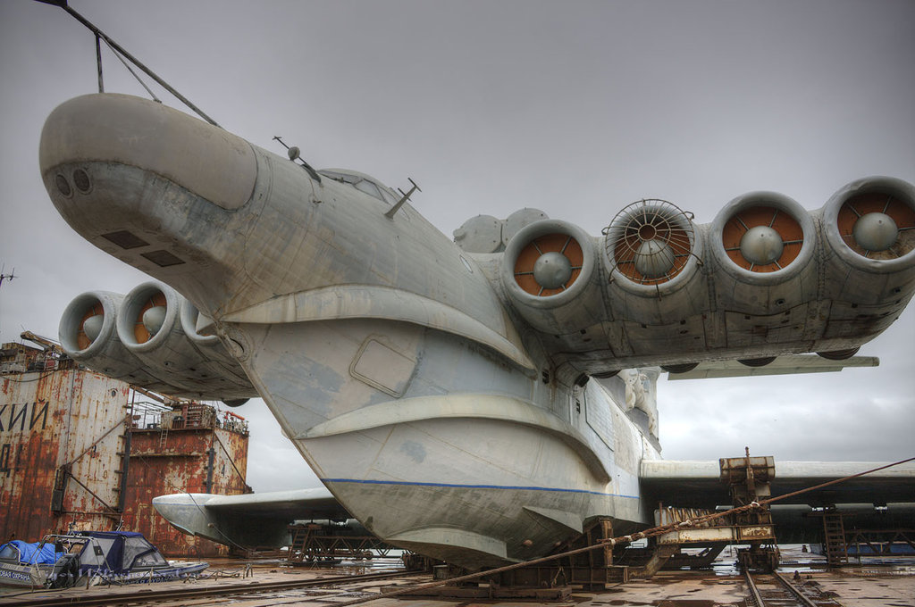 This Anymore? The Soviet Lun-Class Ekranoplan Ground Effect Vehicle
