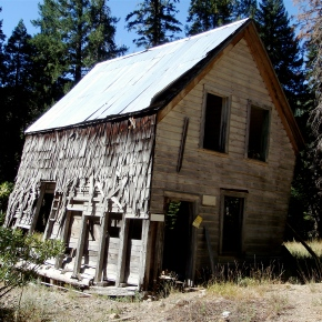 California Ghost Towns: Poker Flat