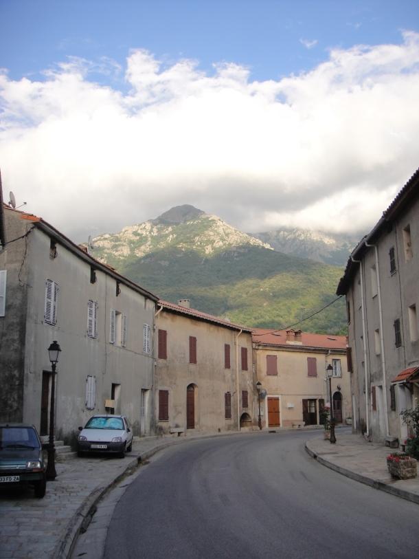 Corsican mountain town