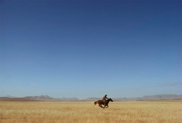 William Albert Allard, Lone Rider in West Texas, 1974