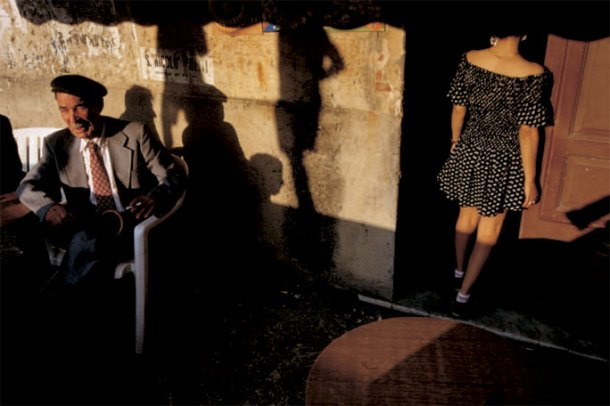 William Albert Allard, Cafe Waitress, Alcara li Fusi, Sicily, 1994